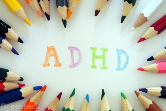 Devostock ADHD Pencils Colorful Health 4k