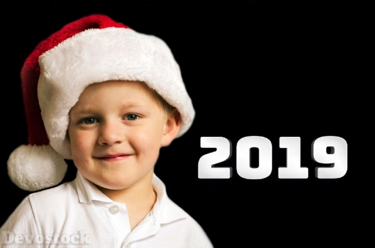 Devostock Christmas Boy Child Kid HD