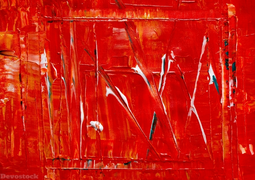 Devostock Concept Abstract Expressionism Abstract Painting Acrylic Paint Red 4k