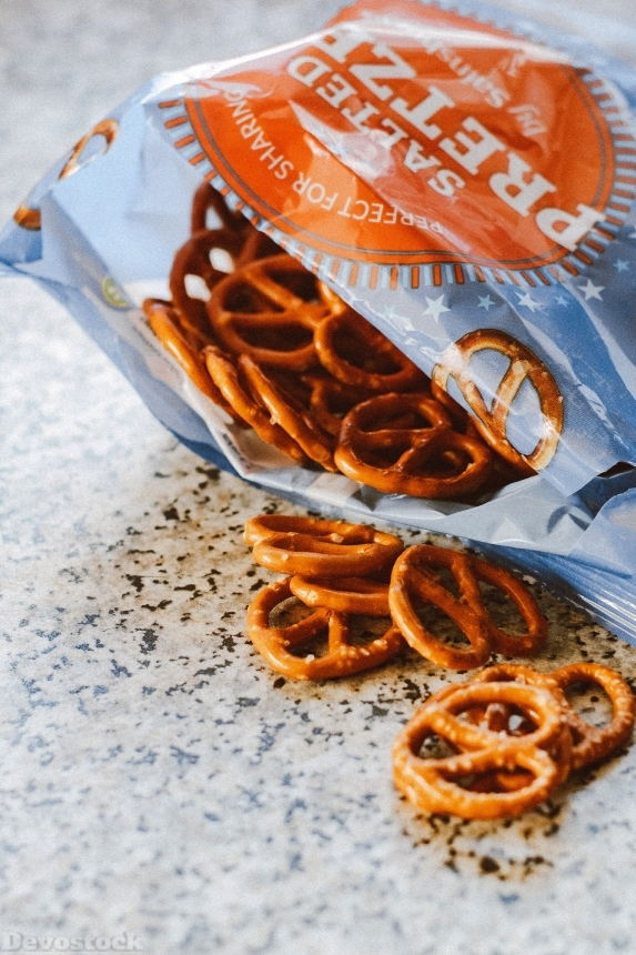 Devostock Delicious Food Pretzels 1894325 4k