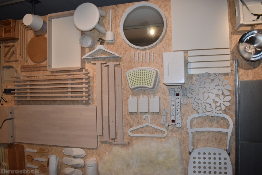 Devostock Exclusive Ikea Museum Sweden Wall Items 4k