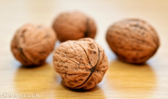 Devostock Food Nuts Healthy Delicious Walnut 4K
