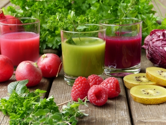 Devostock Fruits Vegetables Smoothies 4k