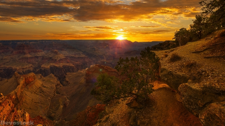 Devostock Grand Canyon Park USA Parks Sunrises And Sunsets 4K