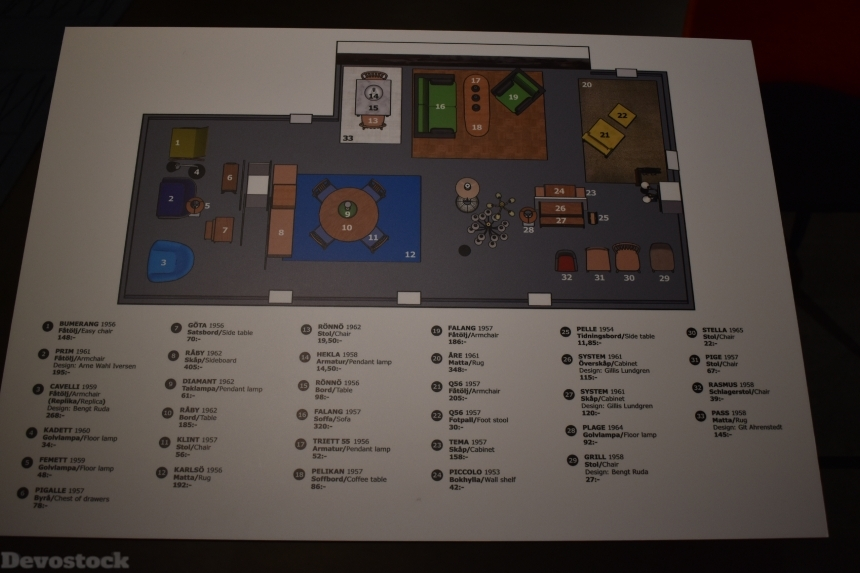 Devostock Ikea Museum Design Map Sweden 4k
