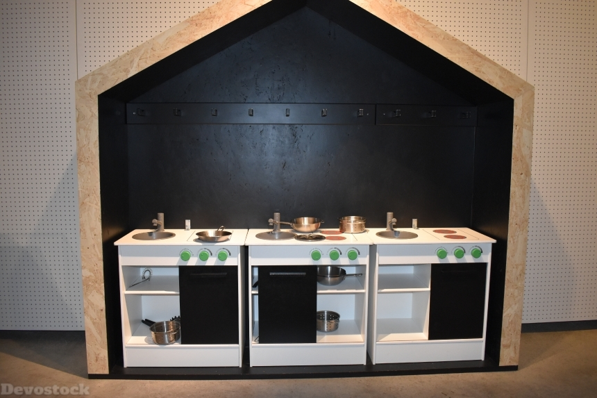 Devostock Ikea Museum Small Kitchen Sweden 4k