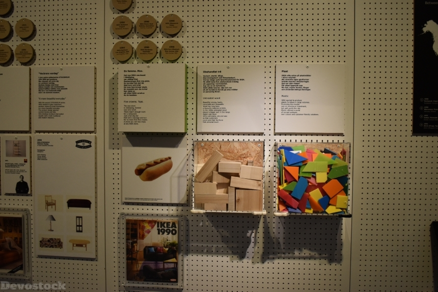 Devostock Ikea Museum Sweden Wall display 4k
