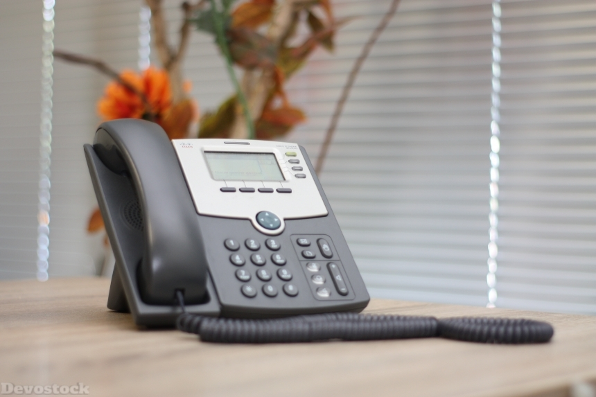 Devostock Indoor Landline Telephone Fixed Room 4k