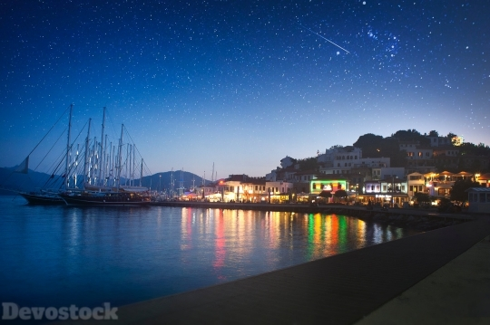 Devostock Photography Lights Night Sky 4k