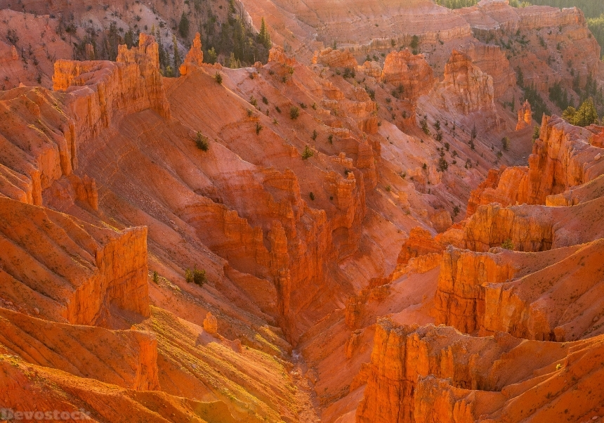 Devostock USA Parks Mountains Cedar Breaks National Monument 4K