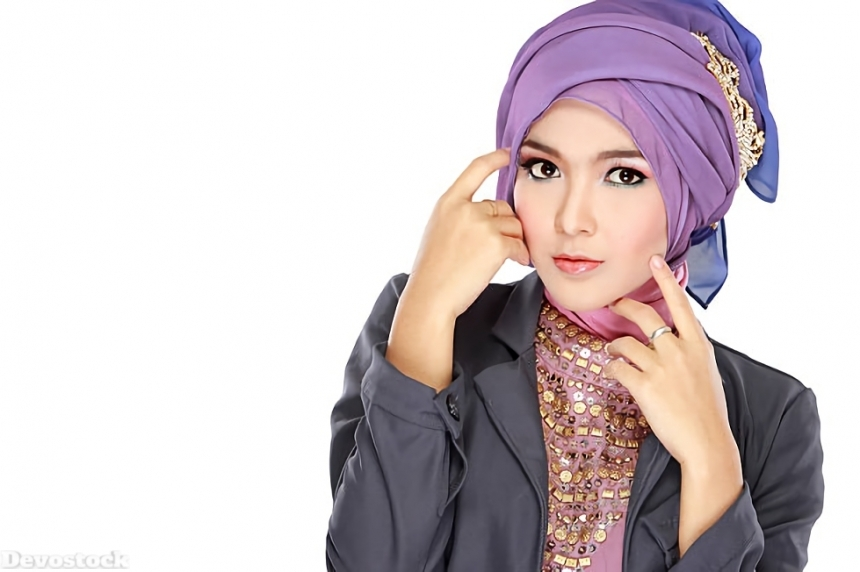 Top Hijab Images collection Muslim women Girls  (130)