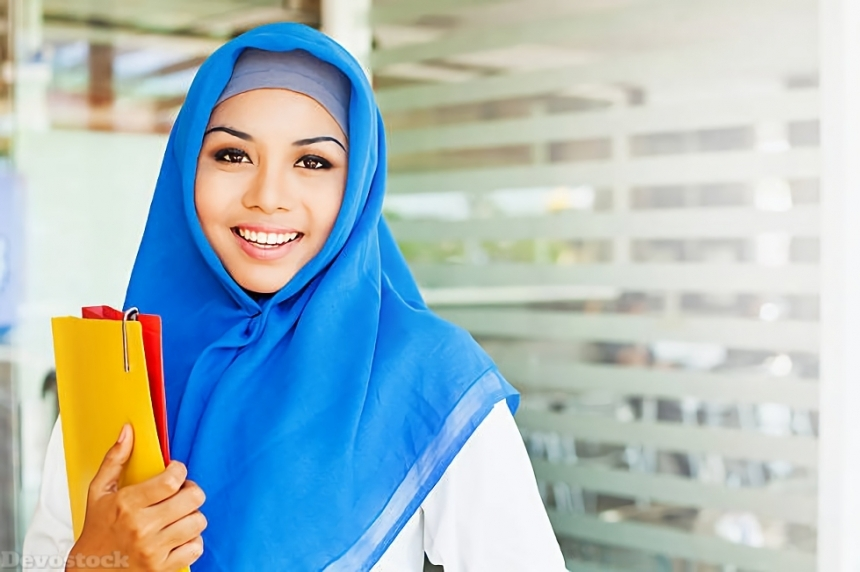 Top Hijab Images collection Muslim women Girls  (80)