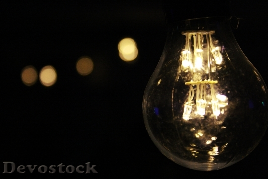Devostock black-background-bulb-close-up-52910