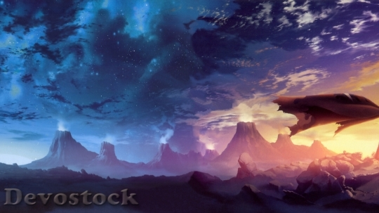 Devostock Impressive Ultra HD Landscape Wallpaper (526)