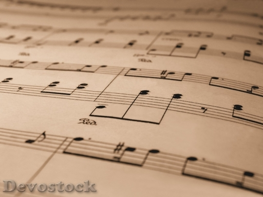 Devostock Music note