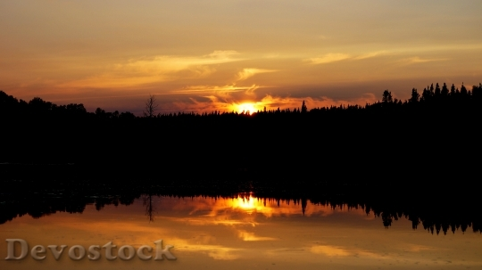 Devostock Sunrise and sunset scenery photo stock (1)