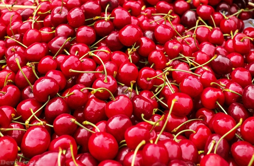 Devostock Cherries Sweet Cherries 1465801