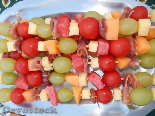 Devostock Food Skewers Fruit 1612498