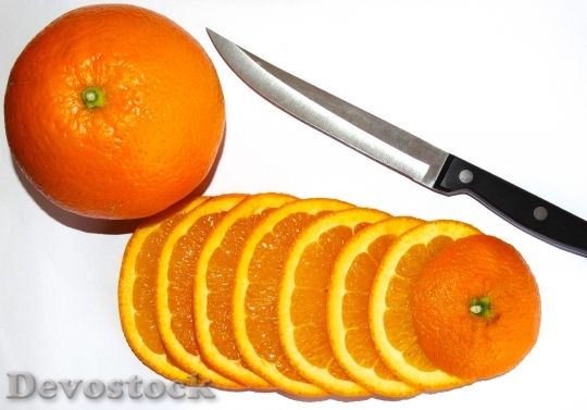 Devostock Fruit Orange Discs Knife