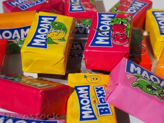 Devostock Maoam Chewy Candy Sweetness 8