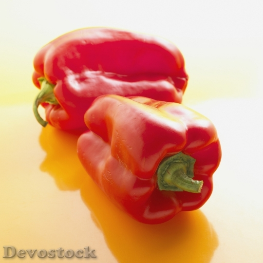 Devostock Red Peppers Healthy Eating