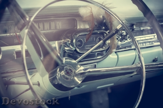 Devostock Steering Wheel Old Oldtimer