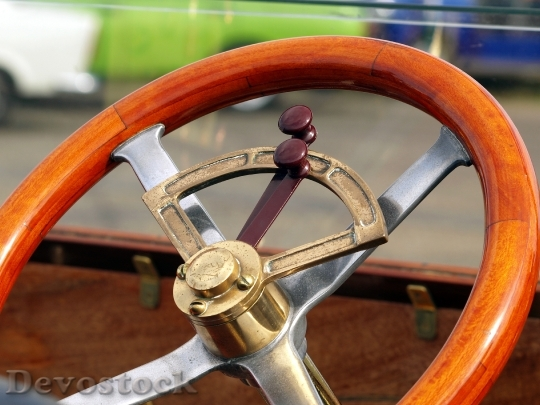 Devostock Steering Wheel Oldtimer Old