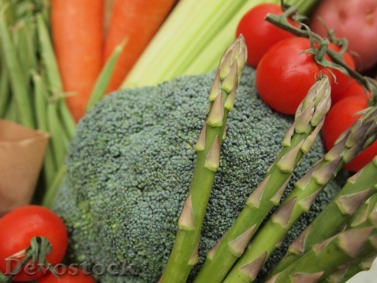 Devostock Vegetables Tomato Fruit Raw