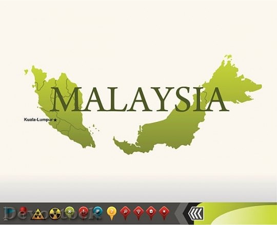Devostock malaysia-map-with-navigation-icons-vector-id165807$1