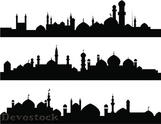 Devostock muslim-cities-silhouettes-illustration-id164455622$1