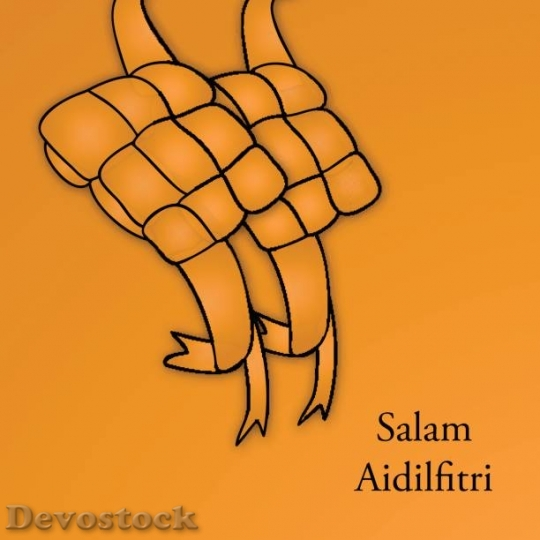 Devostock traditional-malay-ketupat-for-selamat-hari-raya-ve$10