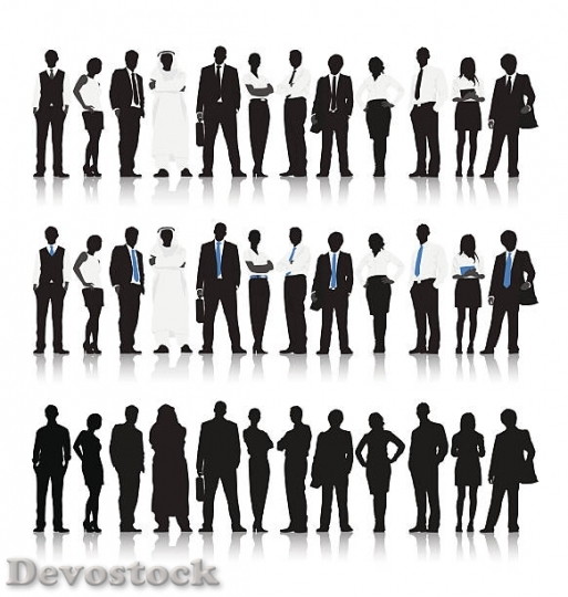 Devostock vector-of-multiethnic-business-people-vector-id481$1