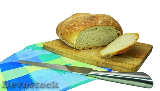 Devostock Bread Baked Goods Food