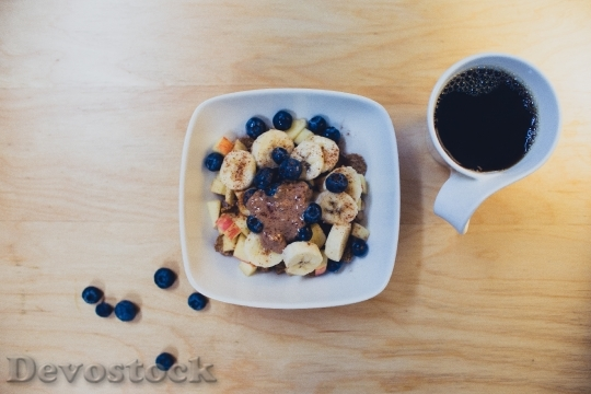 Devostock Breakfast Bowl Fruit Salad