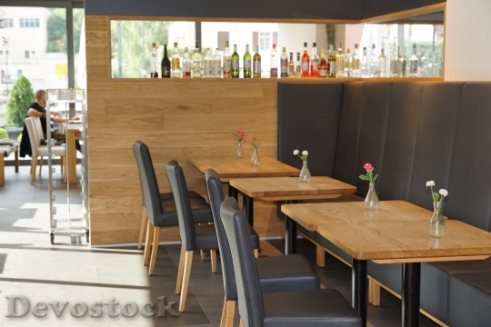 Devostock Cafe Canteen Dining Tables