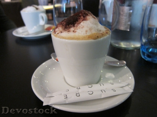Devostock Coffee Cappuccino Cup Saucer