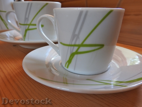 Devostock Coffee Cup Saucer Cup 1