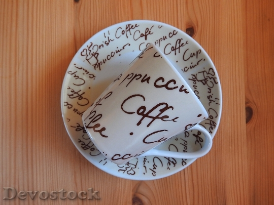 Devostock Coffee Cup Saucer Cup