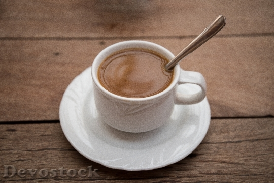 Devostock Coffee Cup Saucer Teaspoon