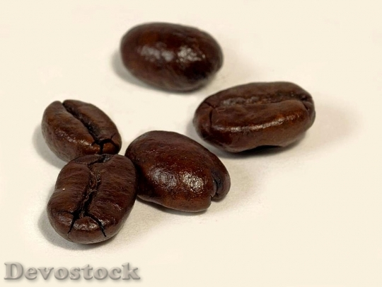 Devostock Dark Roasted Coffee On