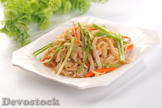 Devostock Fried Rice Noodles Chives
