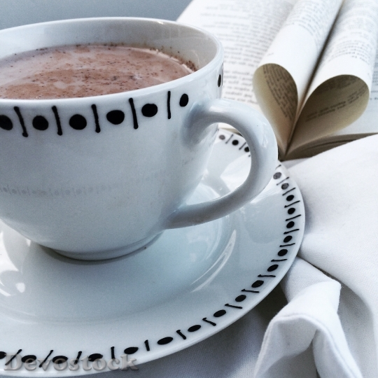 Devostock Hot Chocolate Organic Coffee