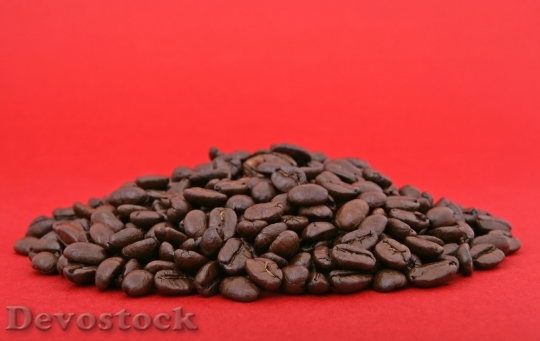 Devostock Pile Background Beans Black
