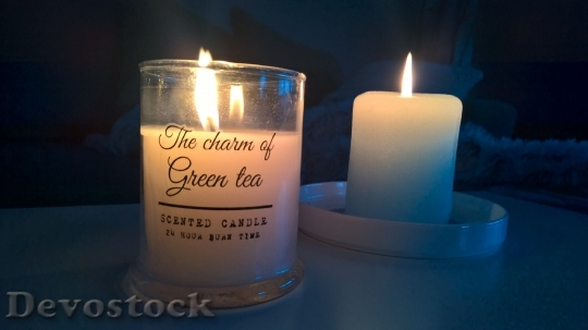 Devostock The Scent Candle Candle